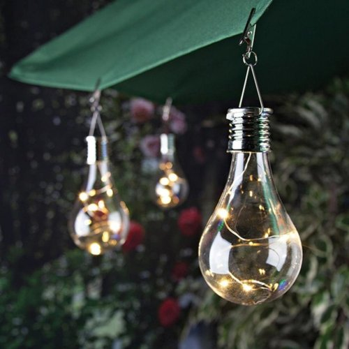 Solar Bulb Outdoor Camping Hanging LED Light