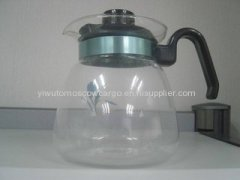 1.8L high quality glass teapot