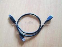 Low price 1.5M customized crocodile clip to open wire power extension cable