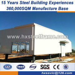 Prefab Steel Structure workshop pre built structures three-span