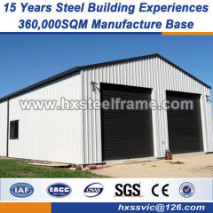Prefab steel warehouse fabricated structural metal Effective