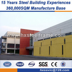 Prefab Steel workshop heavy steel structure fabrication top quality