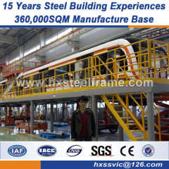 prefab warehouse Industrial Structural Steel Workshop fireproof