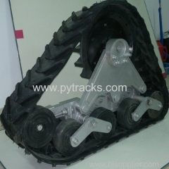 Customize Snow Rubber Track Conversion System
