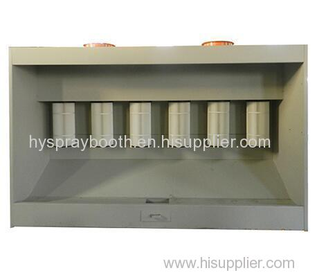 Electrostatic Powder Coating Spray Booth