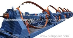 High Speed Skip Strander Bow Type Stranding Cable Twisting Machine.China Bow Strander Bow Strander Manufacturers