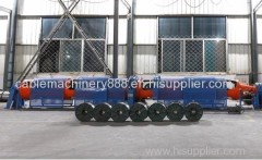 7 wire stranding machine.Tubular Stranding Machine