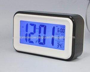 Customized Personal silicone mini desk table alarm clock bedside clocks cover