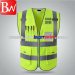 2018 Classic safety vest with velcro 2 colors available in China/China New Safety Vest