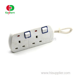 6FT 4 Outlet Power Surge Protector 2 USB Port AC Power Strip UL Listed