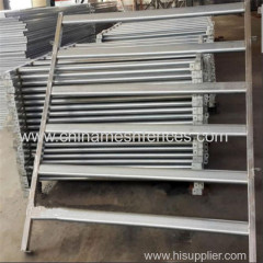 galvanized/powder coated welded pipe cattle horse panel fence rail factory
