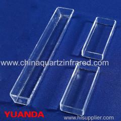 Quartz galss Square cylinder