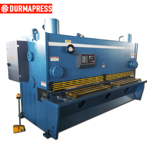 Hydraulic large plate guillotine shears machine