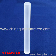 quartz glass rod large size
