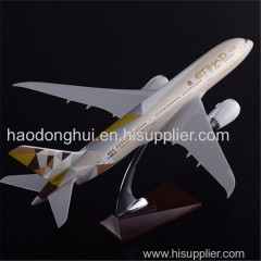 Static Exhibit Simulation The Model of Aircraft for Sale OEM Boeing 787 Etihad Airways