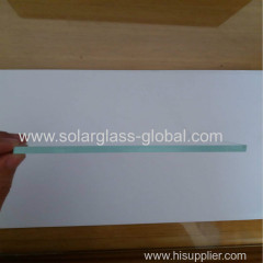 Small size ultra clear tempered solar glass 150*170mm