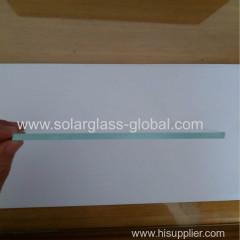небольшое ультратонкое закаленное солнечное стекло 150 * 170 мм