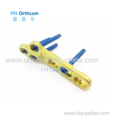 3.5mm TPLO Locking Plates for Veterinary Orthopedic Use OEM Veterinary Orthopedic Implants and Instruments