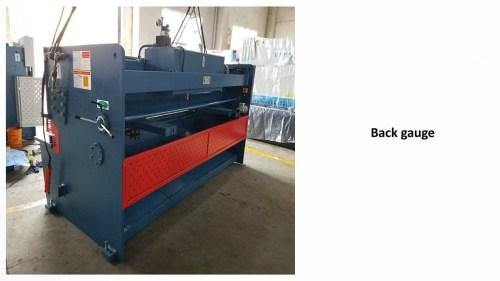 Hydraulic shearing machine for cutting stainless sheet & mild steel plate