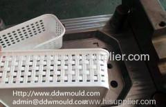 DDW Plastic Rattan Crate Mold Rattan Plastic Basket Mold Plastic Rattan Household Mold