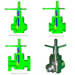 """API Spec 6A 2"""" 3"""" Mud Gate Valve with Welded or Flange End Connection"""