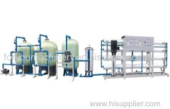 5000L/H Reverse osmosis system water treatment machine