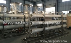 8000L/H Reverse osmosis system water treatment machine