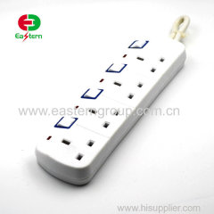1.5m Cable 16A Type E - 4 way power strips