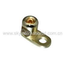 High Quality Gold Plated 0 Gauge Ground Terminal Car Audio Parts