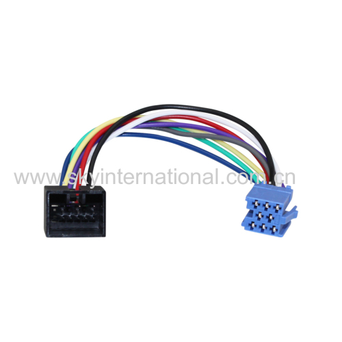 Mini ISO 8Pin Connecto To 12Pin VW Connector