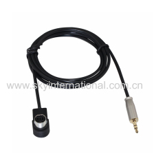 AUX Cable For JVC KS-U58 3.5MM Input iPOD MP3 U57 U29 Arsenal Metal Plug