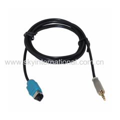 AUX Cable For Alpine 237 Aux Input Cable Fullspeed To Mini Jack Adapter METAL