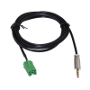 For Renault Clio Megane 2005-2012 Aux In Cable For iPod MP3 3.5MM Jack METAL