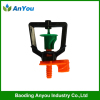 Plastic micro sprinklers for irrigation