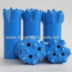 R25 43mm hydraulic thread carbide button drill bits