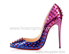 Fashionable women high heel shoes