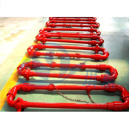High Pressure Chiksan Cementing and Circulating Steel Hose Loops