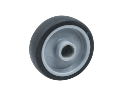 Single Wheel TPR/PA/PU/ Elasticity
