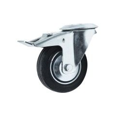 High Quality Rubber Casters
