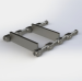 Drop Forged Chain 102HVY 142STD 260STD For Material Handling