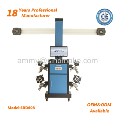 Blue Color 3D Wheel Alignment Machine with CE Certificate
