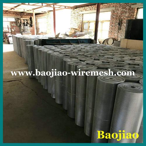 Fireproof Powder Coated Aluminum Gutter Guards Mesh