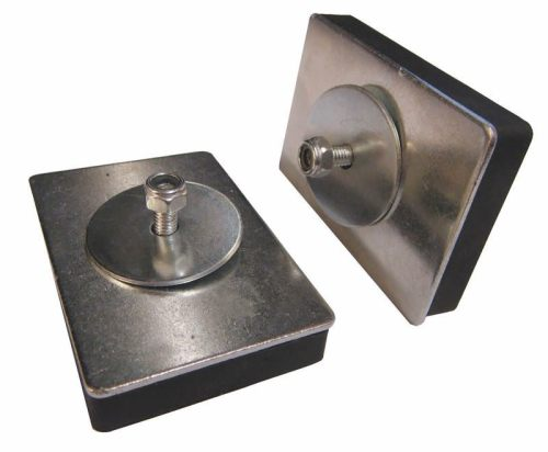 Rubber coated base magnet used for TAXI roof sings