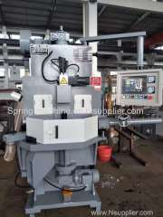 CNC Spring End Grinding Machine Double tray Spring grinder spring grinding machine