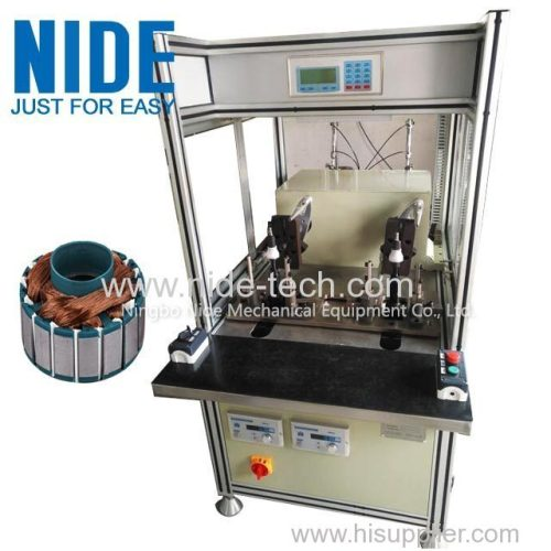 Single flyer BLDC winding machine outer Rotor coil winding machine for brushless motor