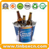 Customized Decorative Tin Bucket Popcorn Tin Box