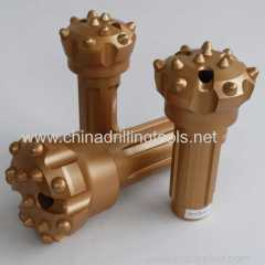 flat face button bits rock drilling tools