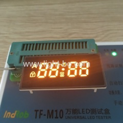 oven display;custom display;amber display;yellow display;oven timer display