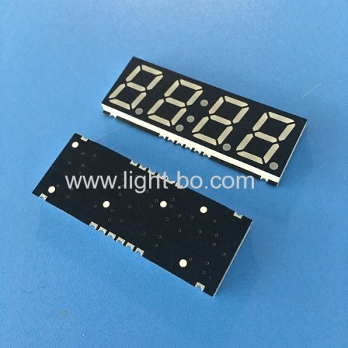Ultra thin 4 digit 0.56 SMD 7 Segment LED Display common anode for Oven Timer