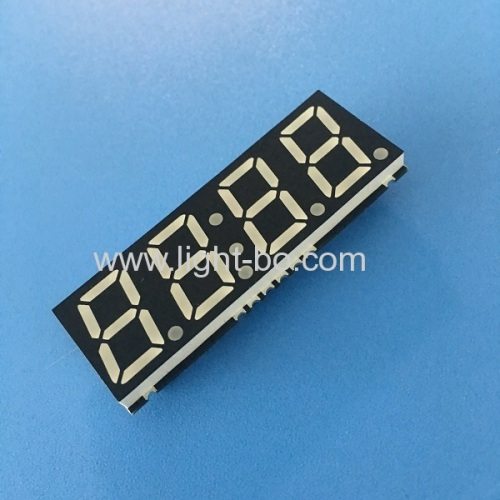 Ultra thin 4 digit 0.56SMD 7 Segment LED Display common anode for Oven Timer